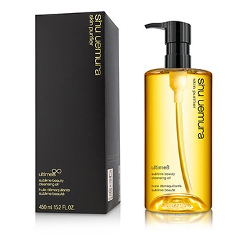 Shu Uemura Óleo de limpeza facial Ultime 8 Sublime Beauty Cleansing Oil