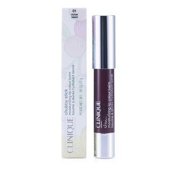 Clinique Lápis labial Chubby Stick - No. 01 Richer Raisin