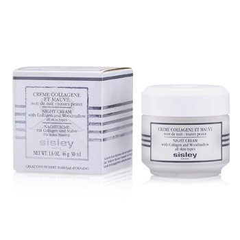 Sisley Botanical Creme noturno com Collagen & Woodmallow