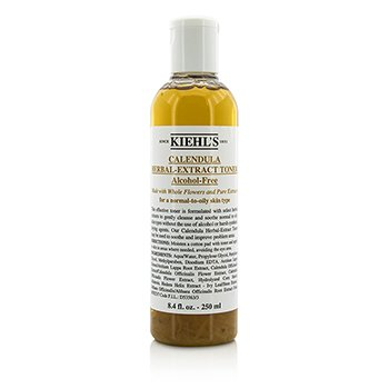 Kiehls Calendula Herbal Extract Ácooll-Free Tônico ( Normal to Óleo Pele )