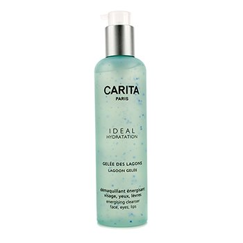 Carita Ideal Hydration Lagoon Gelee Energising Cleanser For Face, Eyes and Lip
