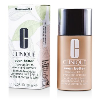 Clinique Base Even Better Makeup SPF15 ( Seca, mista a oleosa  ) - No. 04/ CN40 Creme Chamois