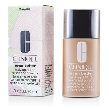 Clinique Base Even Better Makeup SPF15 ( pele mista seca ou mista oleosa ) - No. 08/ CN74 Beige