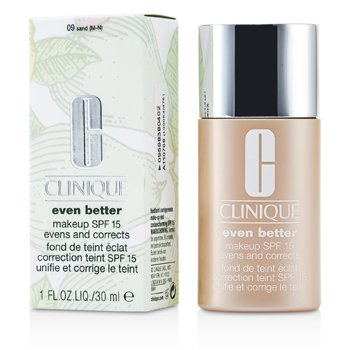 Clinique Even Better Makeup SPF15 (Pele Mista á Oleosa) - No. 09/ CN90 Sand