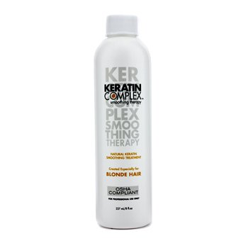 Keratin Complex Smoothing Therapy Natural Keratin Smoothing Treatment  (For Blonde Hair)