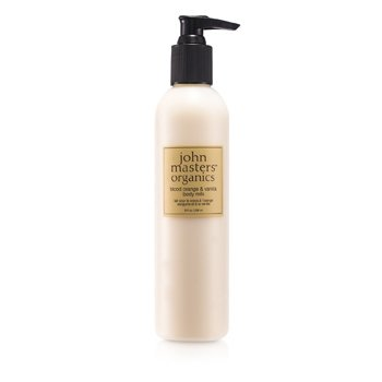 John Masters Organics Leite hidratante Blood Orange & Vanilla Body Milk