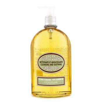 LOccitane Óleo de amendoa Almond Cleansing & Soothing Shower Oil