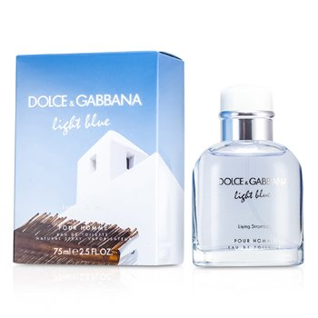 Dolce & Gabbana Light Blue Living In Stromboli Eau De Toilette Spray