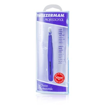 Tweezerman Pinça Professional Slant Tweezer - Blooming Lilac