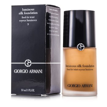 Giorgio Armani Base Luminous Silk Foundation - # 9 Natural Suede