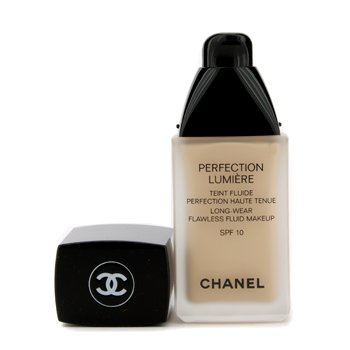 Chanel Base liquida Perfection Lumiere Long Wear Flawless Fluid Make Up SPF 10 - # 20 Beige