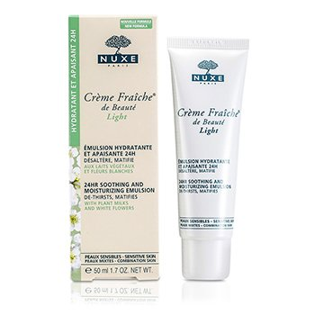 Nuxe Creme Fraiche De Beaute Light 24HR Soothing And Moisturizing Emulsion (Pele Sensível & Mista)