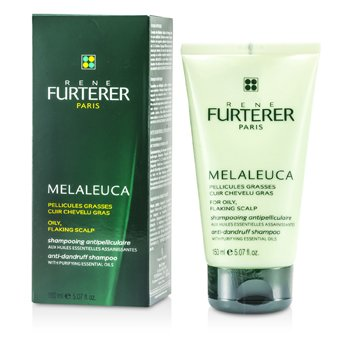 Rene Furterer Melaleuca Contra a caspa Shampoo ( For Oily, Flaking Scalp )