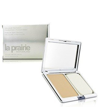 La Prairie Base Cellular Treatment Foundation Powder Finish - Beige Dore (Nova embalagem)