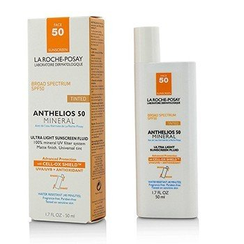 La Roche Posay Protetor  solar Anthelios 50 Mineral Tinted Ultra Light Sunscreen Fluid
