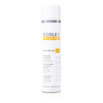 Bosley Professional Strength Bos Defense Volumizing Conditioner (Normal, fino, tratado )