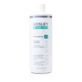 Bosley Condicionador Professional Strength Bos Defense Volumizing Conditioner (For Normal to Fine Non Color-Treated Hair)