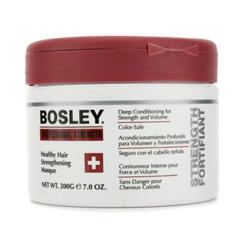 Bosley Mascara capilar Professional Strength Healthy Hair Strengthening Masque (p/ cabelo danificado e fraco)
