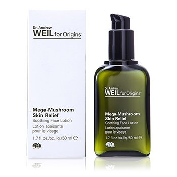 Origins Loção facial calmante Dr. Andrew Mega-Mushroom Skin Relief Advanced Face Serum  0G3C