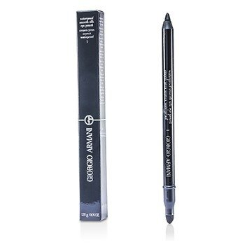 Giorgio Armani Lápis de olho Waterproof Smooth Silk Eye Pencil - # 01 (Black)