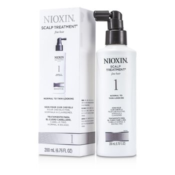 Nioxin Tratamento System 1 Scalp Treatment p/ cabelo fino, normal e ralo