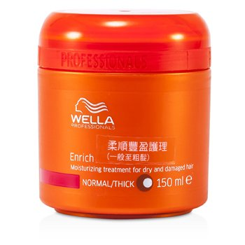 Wella Tratamento Enrich Moisturizing Treatment for Dry & Damaged Hair (Normal/grosso)