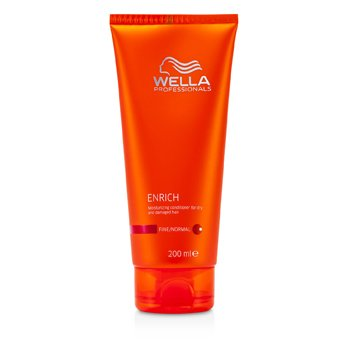 Wella Condicionador Enrich Moisturizing Conditioner For Dry & Damaged Hair (cabelo fino/normal)