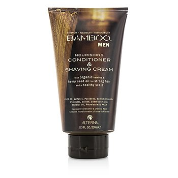 Alterna Creme de barbear Bambo Men Nourishing Conditioner & Shaving Cream