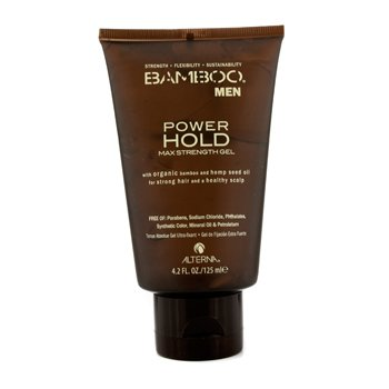 Alterna Gel p/ cabelos Bamboo Men Power Hold Max Strength Gel (For Strong Hair and Healthy Scalp)