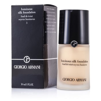 Giorgio Armani Base Luminous Silk Foundation - # 3 (Pale Peach)
