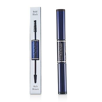 Estée Lauder Double Wear Two Tone Zero Smudge Eye Opening Mascara - # 01 Bold Black/Rich Brown