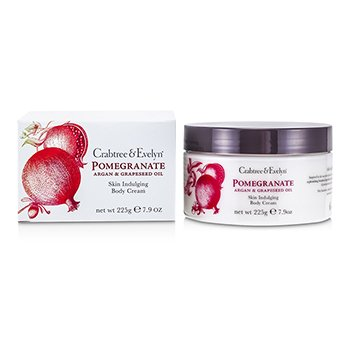 Crabtree & Evelyn Creme p/ o corpo Pomegranate, Argan & Grapeseed Body Cream
