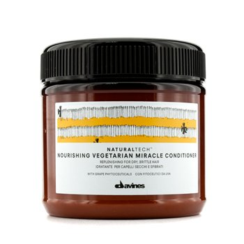 Davines Condicionador Natural Tech Nourishing Vegetarian Miracle Conditioner (Seco, quebrado)