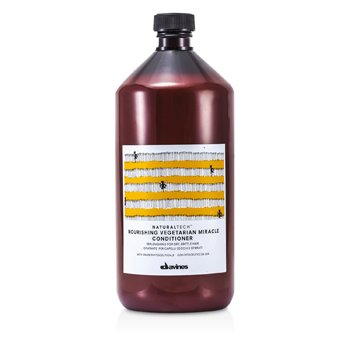 Davines Natural Tech Nourishing Vegetarian Miracle Conditioner (For Dry and Brittle Hair)