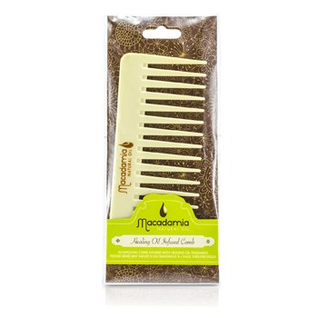 Macadamia Natural Oil Pente Infused Comb