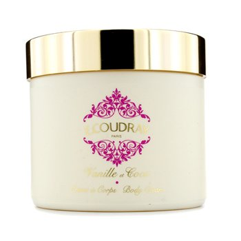 E Coudray Creme corporal Vanille & Coco Perfumed  (Ñova embalalgem)