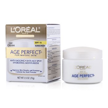 LOreal Creme Skin Expertise Age Perfect Hydrating Moisturizer SPF 15 (p/ a pele madura)