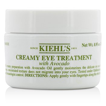 Kiehls Creme Para Olhos Treatment with Avocado