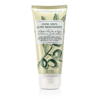 Durance Creme de folha de  azeitona Super Nourishing Body Cremewith Olive Leaf Extract
