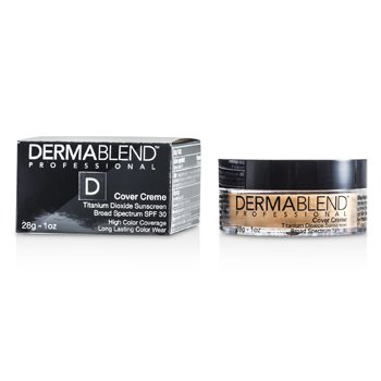 Dermablend Base Cover Creme Broad Spectrum SPF 30 (Cobertura itensa) - Pale Ivory