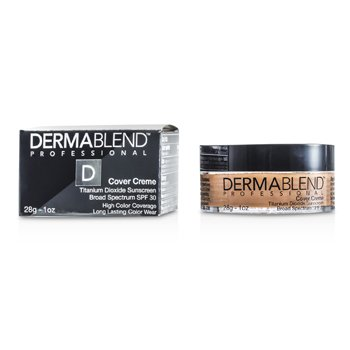 Dermablend Base Cover Creme Broad Spectrum SPF 30 (Cobertura itensa) - Honey Beige