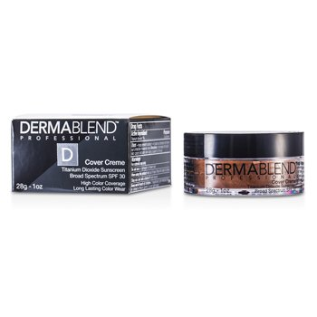 Dermablend Base Cover Creme Broad Spectrum SPF 30 (Cobertura itensa) - Golden Bronze