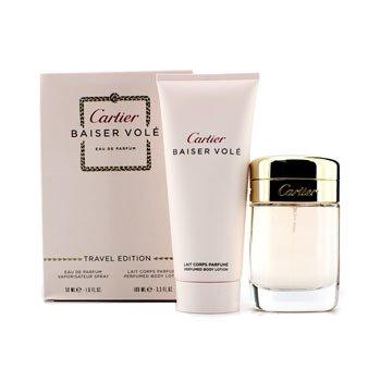 7608906e263 Cartier Caixa Baiser Vole  Eau De Parfum Spray 50ml 1.6oz + Leite  hidratante 100ml 3.3oz 2pcs