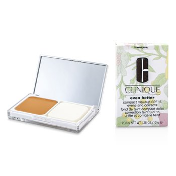 Clinique Pó base Even Better Compact Makeup SPF 15 - # 18 Sand (M-N)