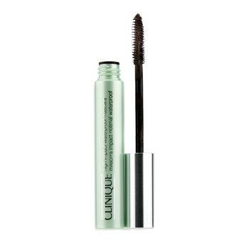 Clinique Máscara de barbear High Impact Waterproof Mascara - # 02 Black/Brown