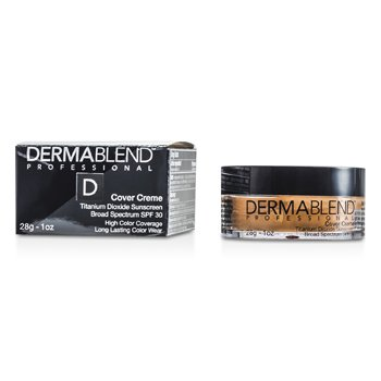 Dermablend Base Cover Creme Broad Spectrum SPF 30 (Cobertura Intensa) - Medium Beige