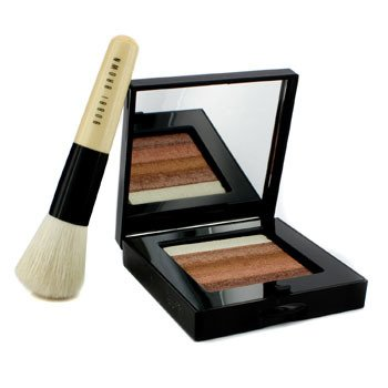 Bobbi Brown Kit autobronzeador Cintilante Brick : Bronze Cintilante Brick Compact + Pincel Mini Face Blender  ( Edição limitada )