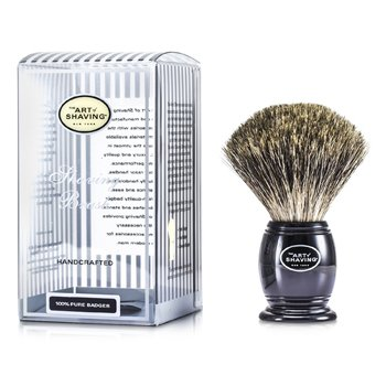 The Art Of Shaving Pincel de barba Pure Badger  - Pure Black