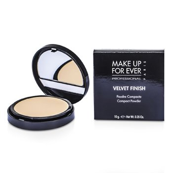 Make Up For Ever Pó compacto Velvet Finish - #1 ( Ivory )