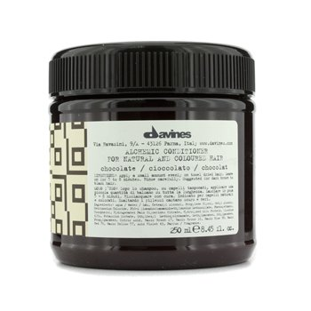 Davines Condicionador Alchemic Conditioner Chocolate (Para Cabelos Naturais & Marrons Escuros a Pretos)